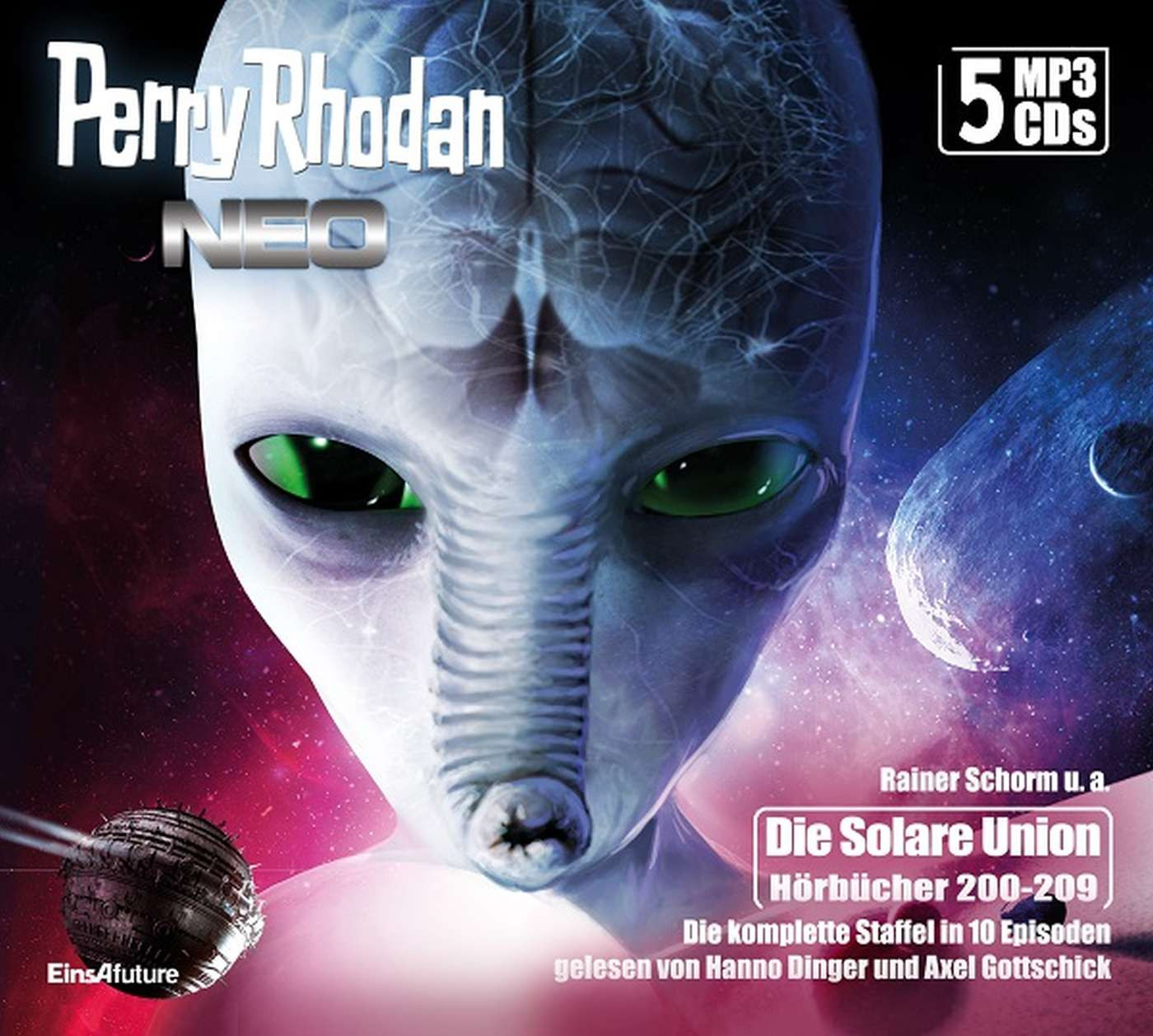 Perry Rhodan Neo MP3-CD Episoden 200-209  (5 CD-Box)
