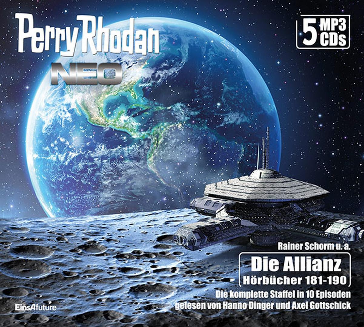 Perry Rhodan Neo MP3-CD Episoden 181-190 (5 CD-Box)