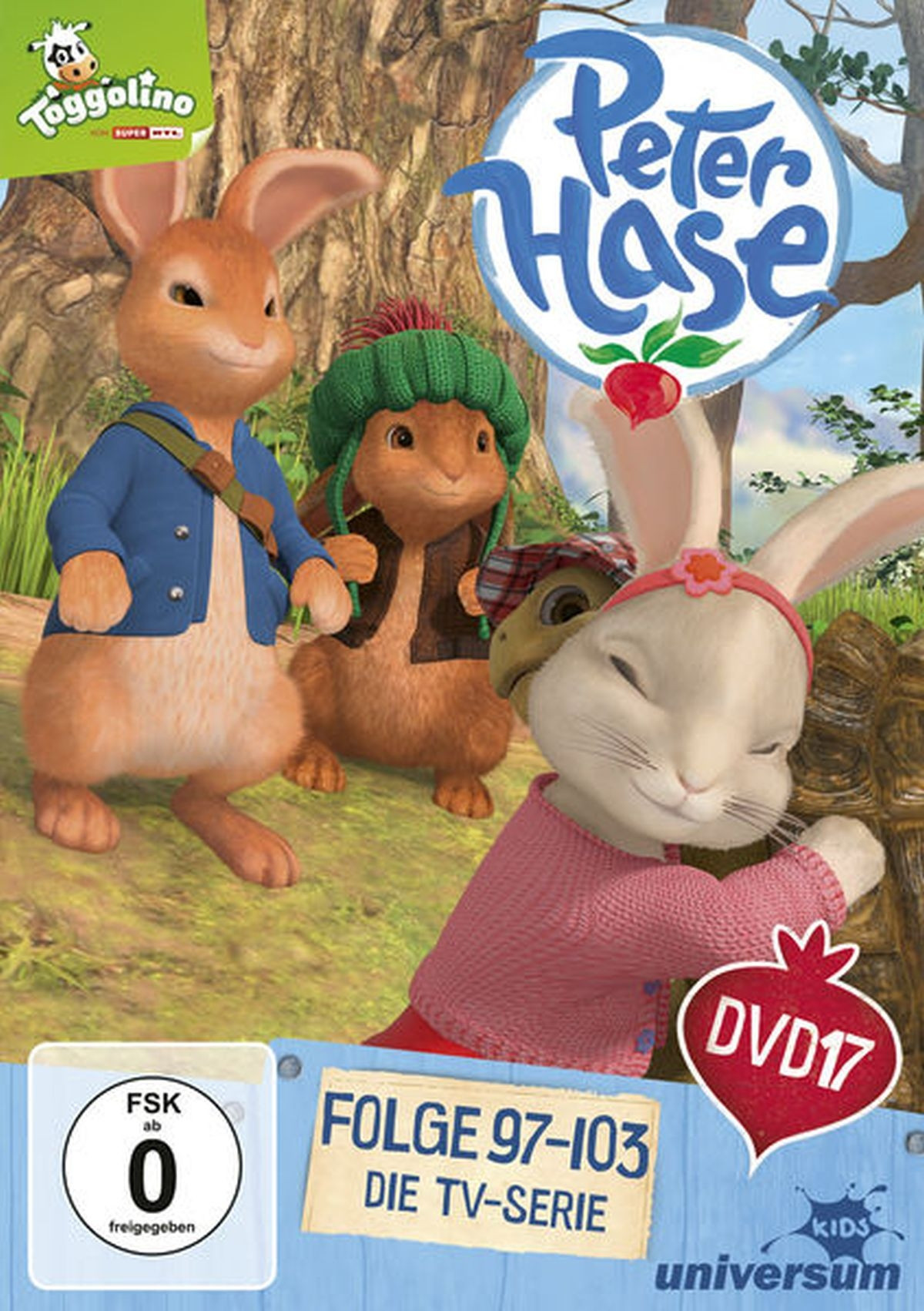 Peter Hase DVD 17 (Folge 97 bis 103)