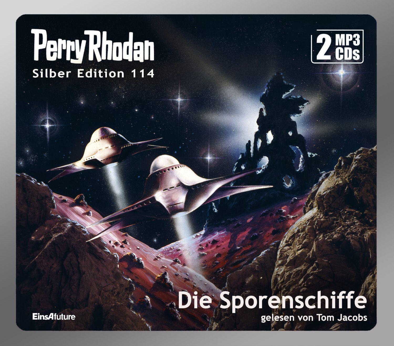 Perry Rhodan Silber Edition 114 Die Sporenschiffe (2 mp3-CDs)