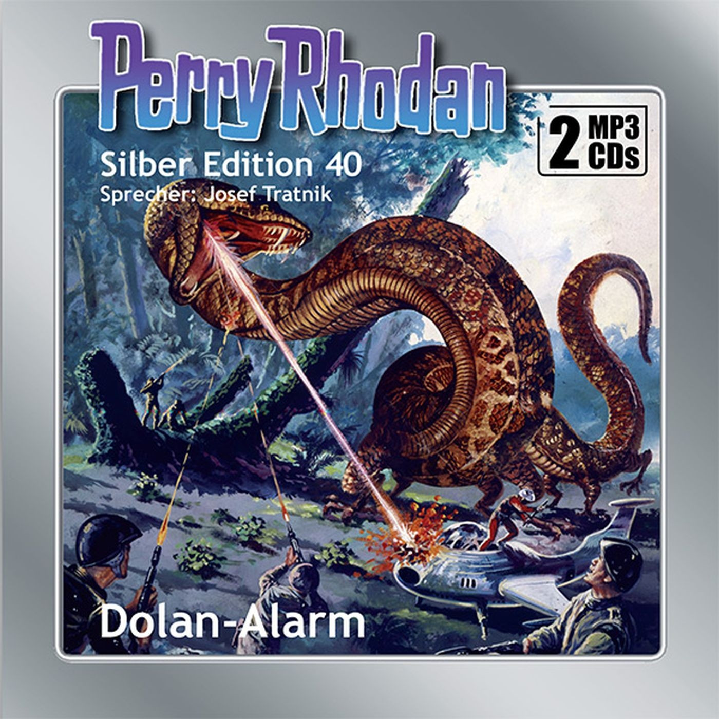 Perry Rhodan Silber Edition 40: Dolan-Alarm (2 mp3-CDs)
