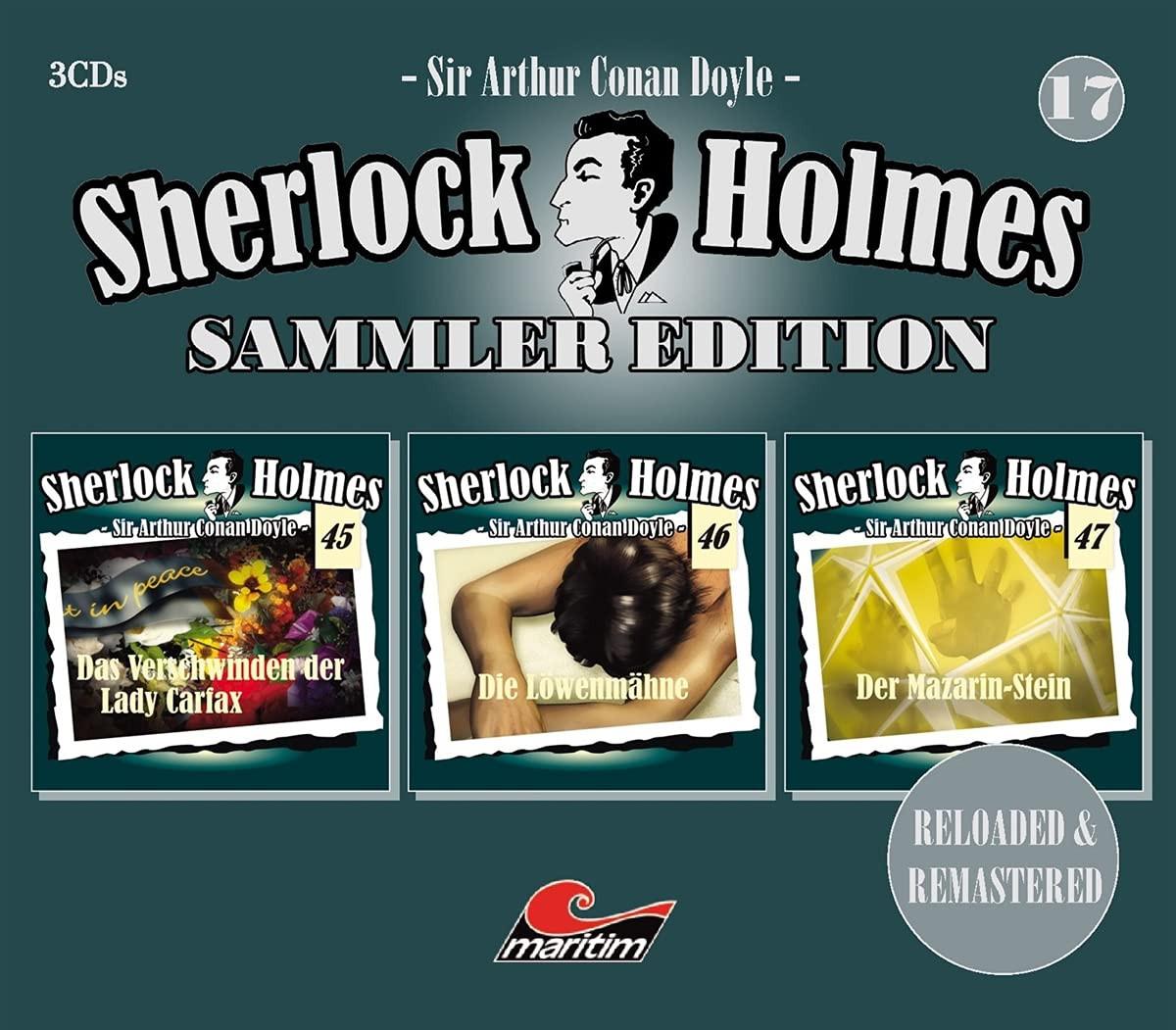 Sherlock Holmes - Sammler Edition - Box 17 (Folge 45, 46, 47)