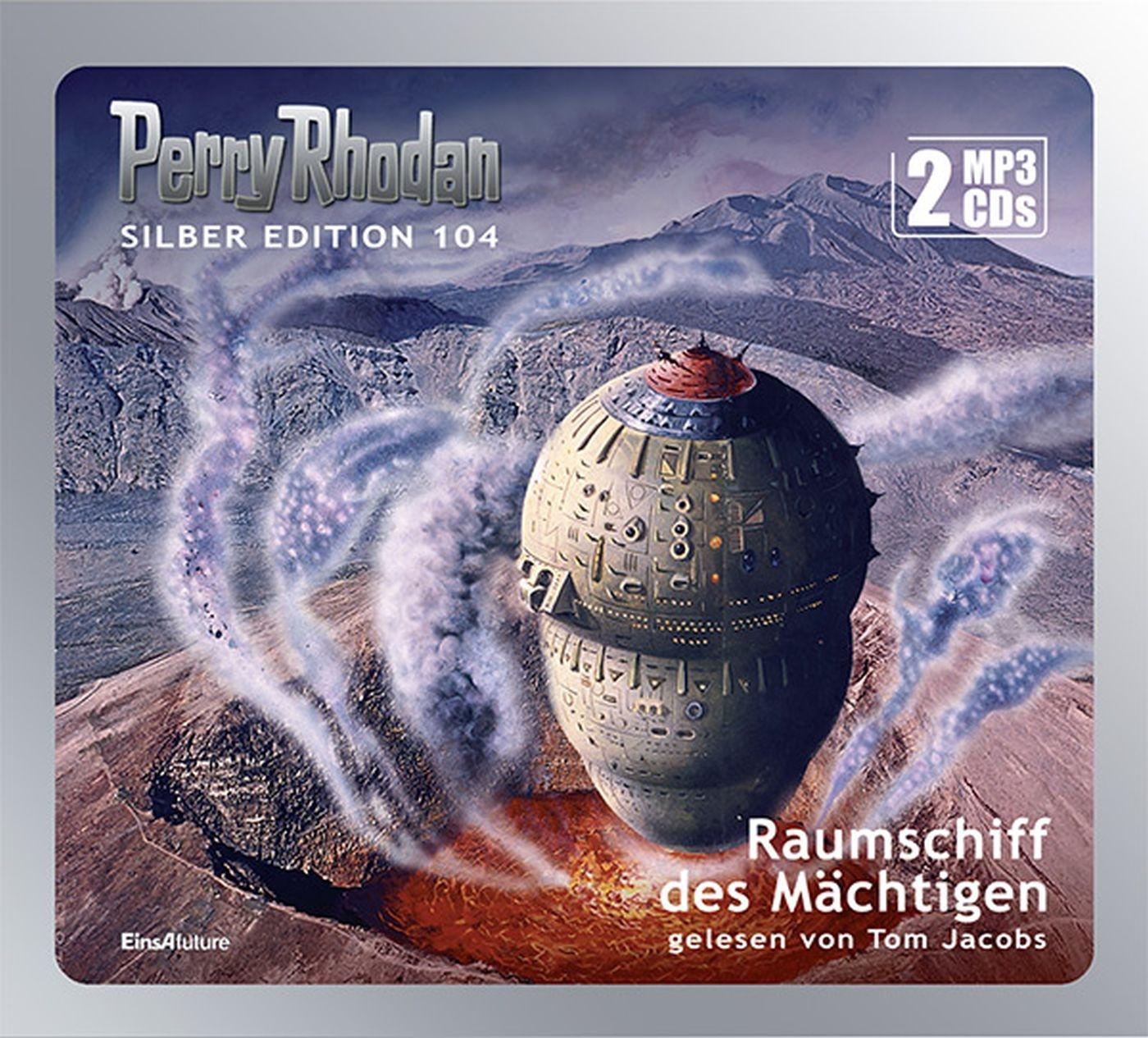 Perry Rhodan Silber Edition 104 Raumschiff des Mächtigen (2 mp3-CDs)