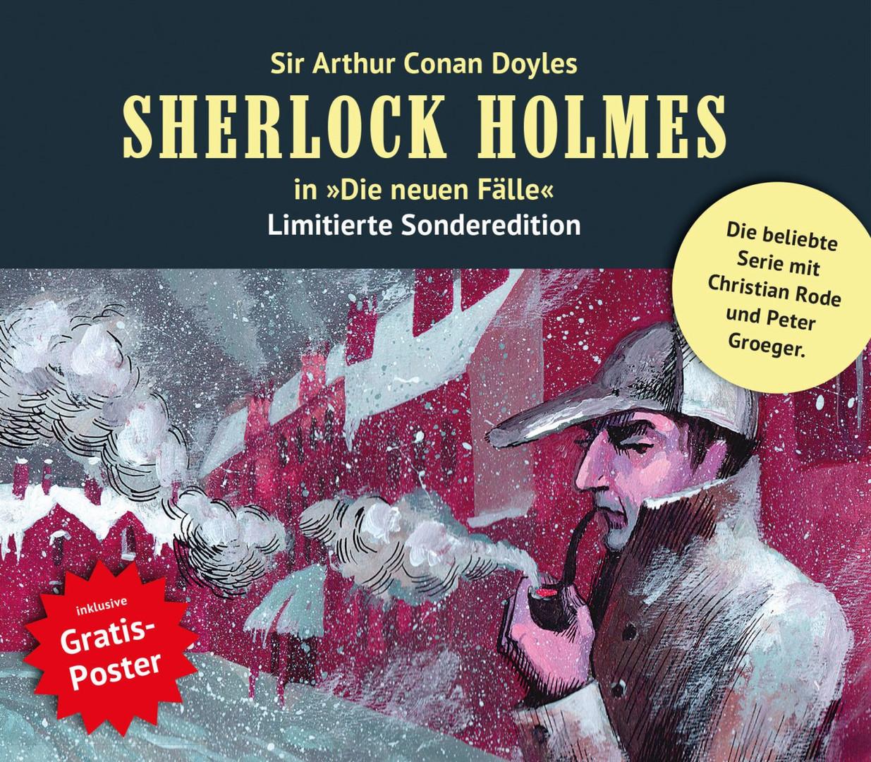 Sherlock Holmes: Die neuen Fälle: Collectors Box 9: Folge 25-27