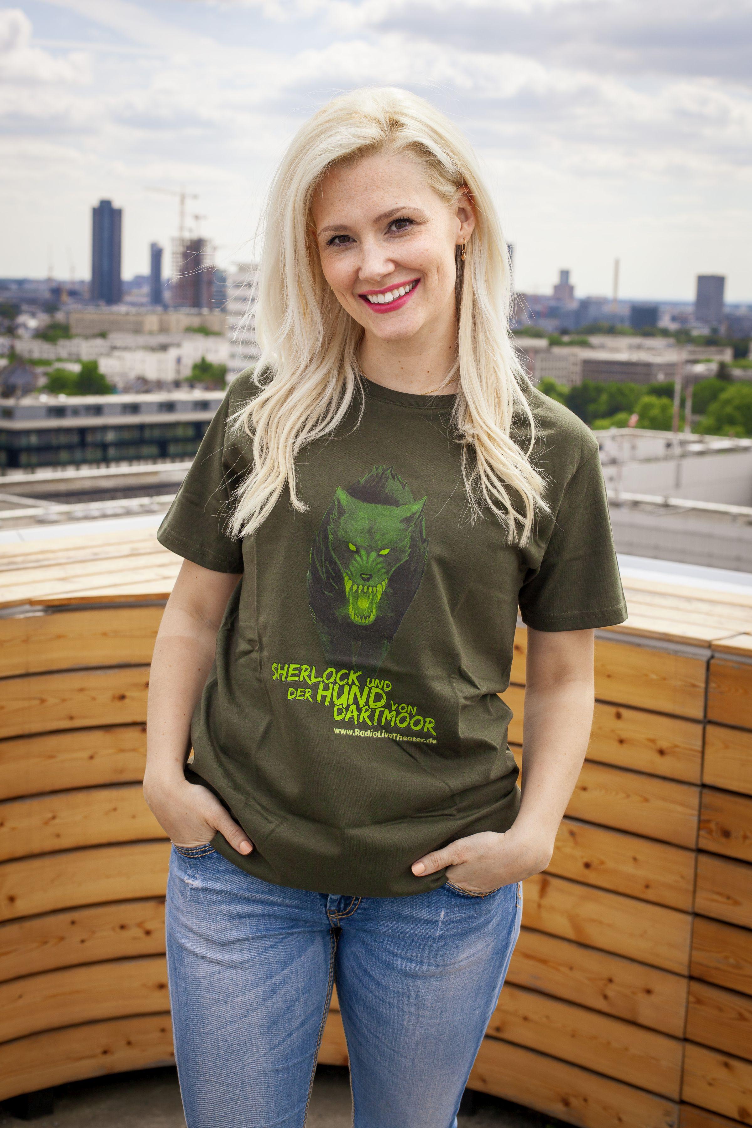 Sherlock und der Hund von Dartmoor - T-Shirt (XL)