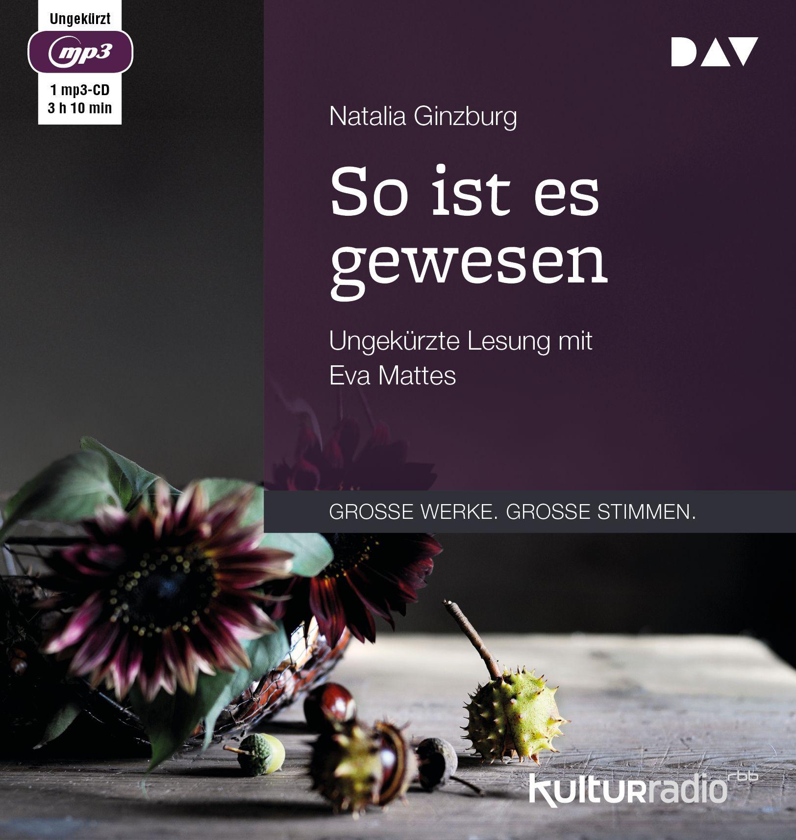 Natalia Ginzburg - So ist es gewesen
