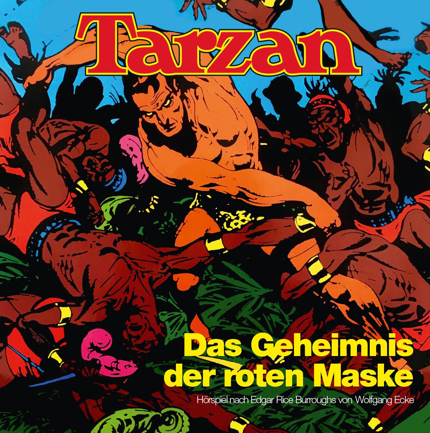 Tarzan - Folge 6: Das Geheimnis der roten Maske (CD)