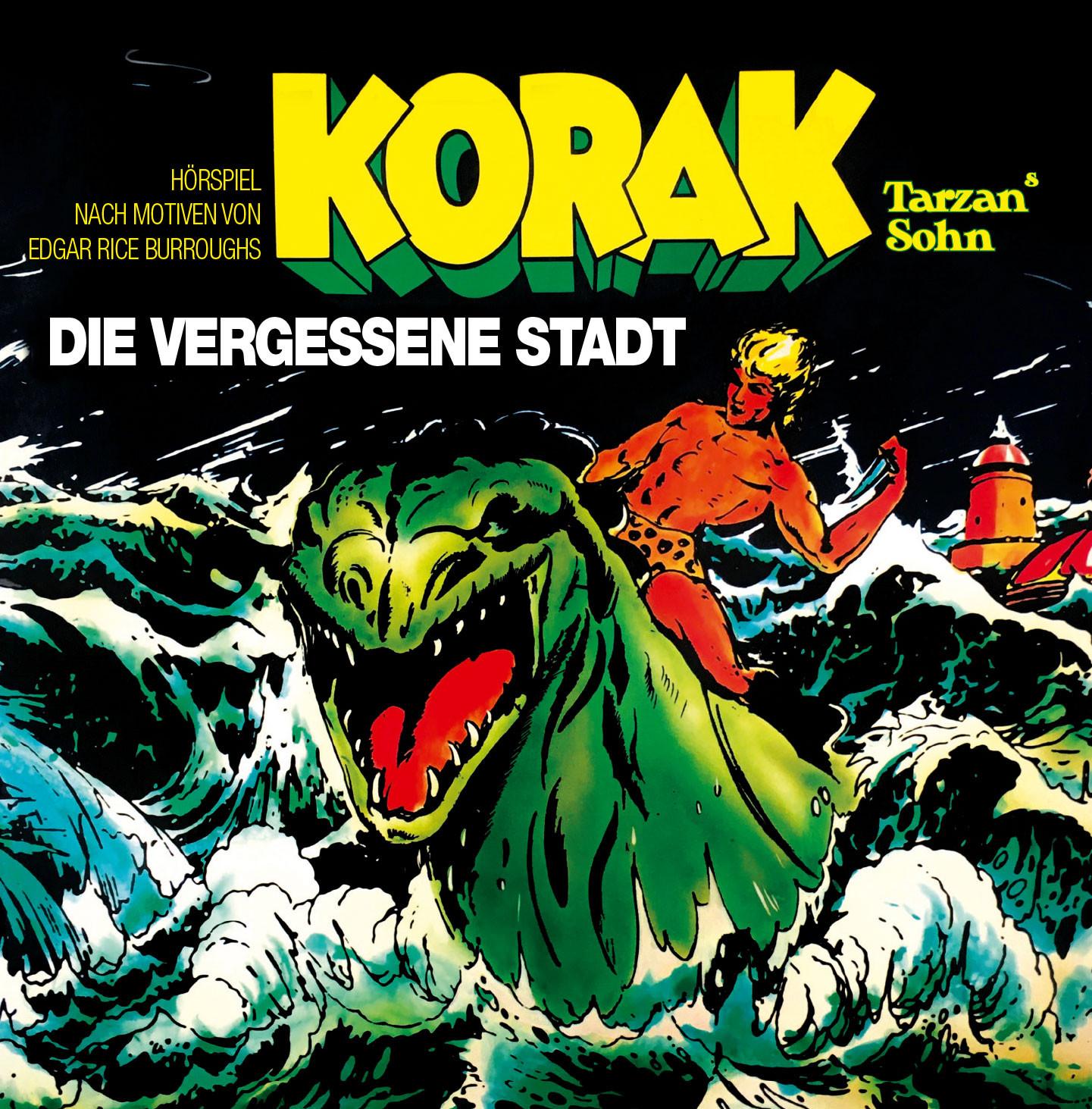 Tarzan - Folge 9: Korak - Die vergessene Stadt (CD)