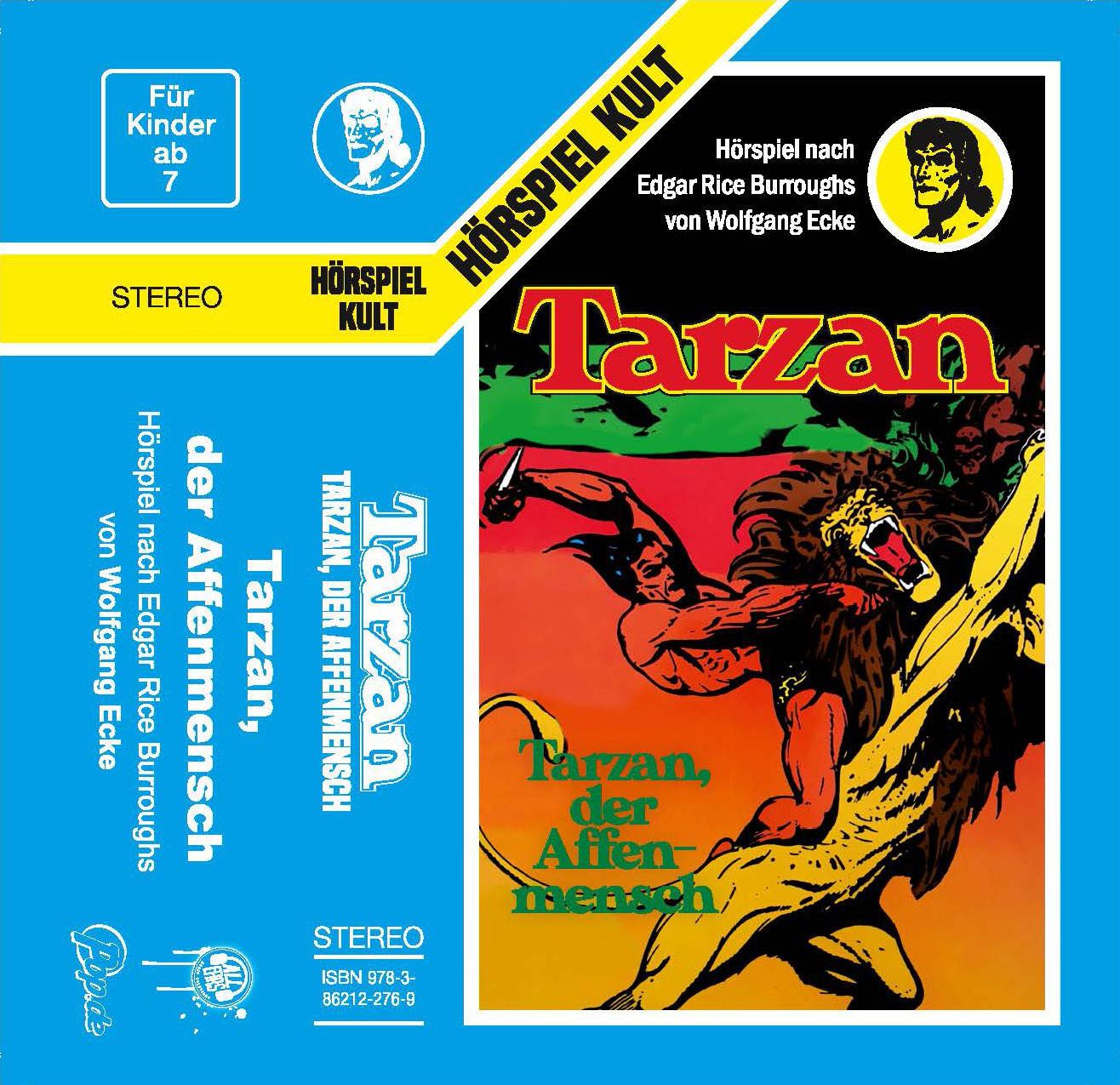 Tarzan - Folge 1: Tarzan, der Affenmensch (MC)