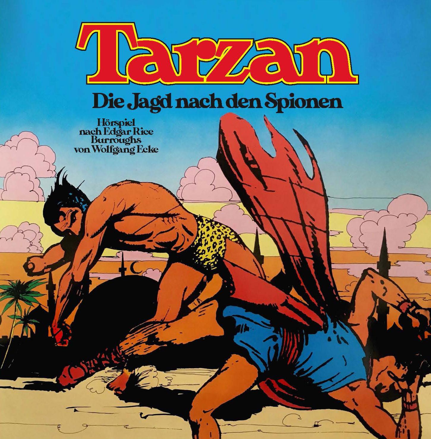 Tarzan - Folge 3: Die Jagd nach den Spionen (CD)