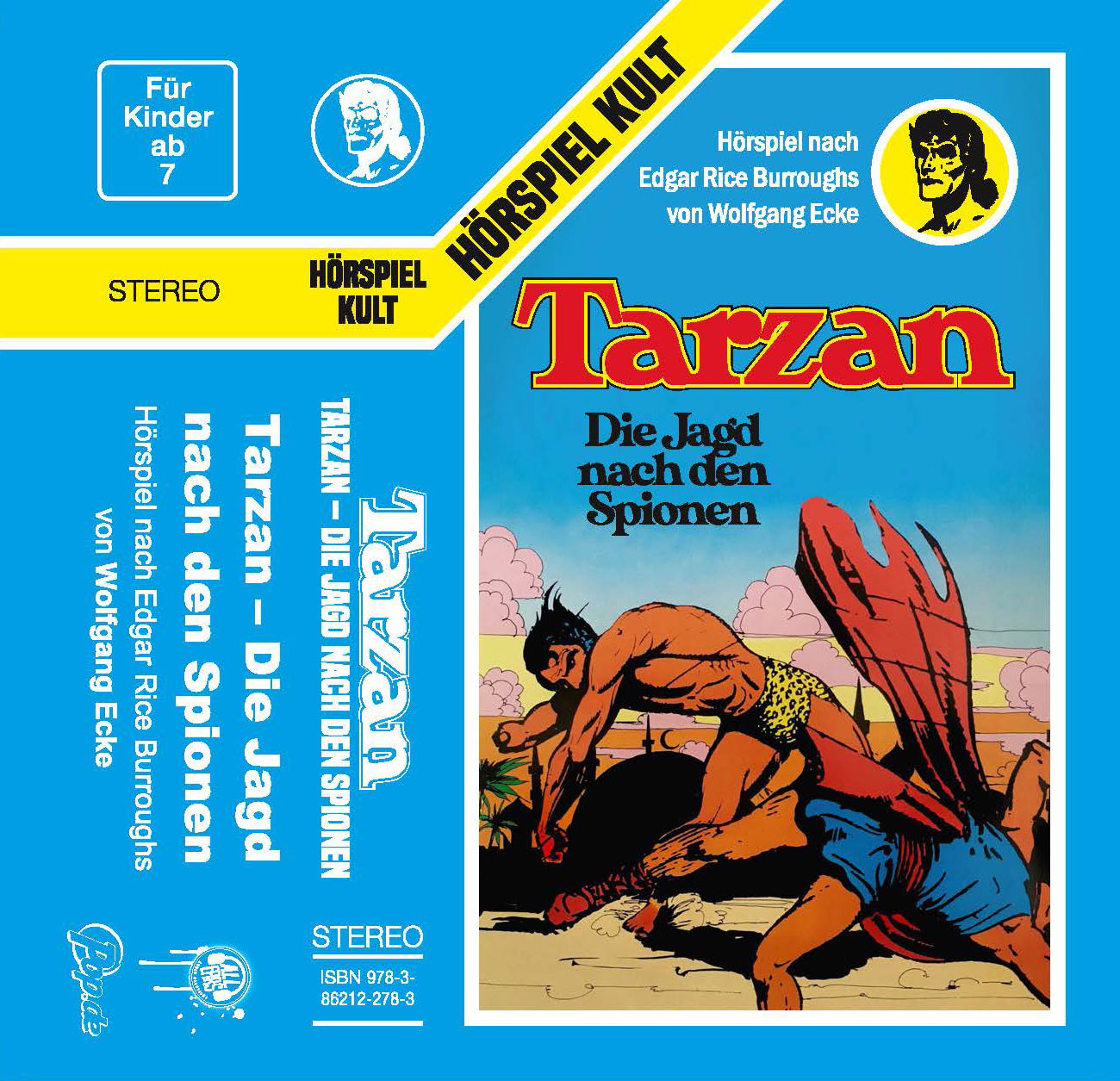 Tarzan - Folge 3: Die Jagd nach den Spionen (MC)