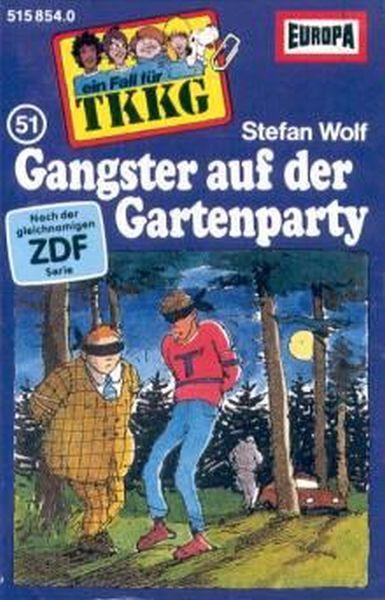 MC TKKG 051 Gangster auf der Gartenparty