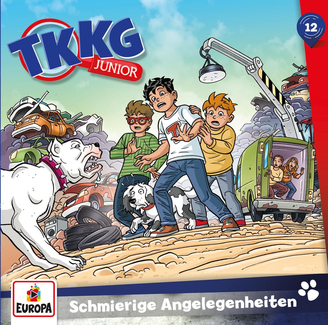 TKKG Junior - Folge 12: Schmierige Angelegenheiten