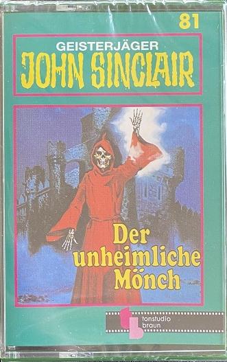MC TSB Tonstudio Braun 81 - Der unheimliche Mönch - seltene Neuauflage !!!