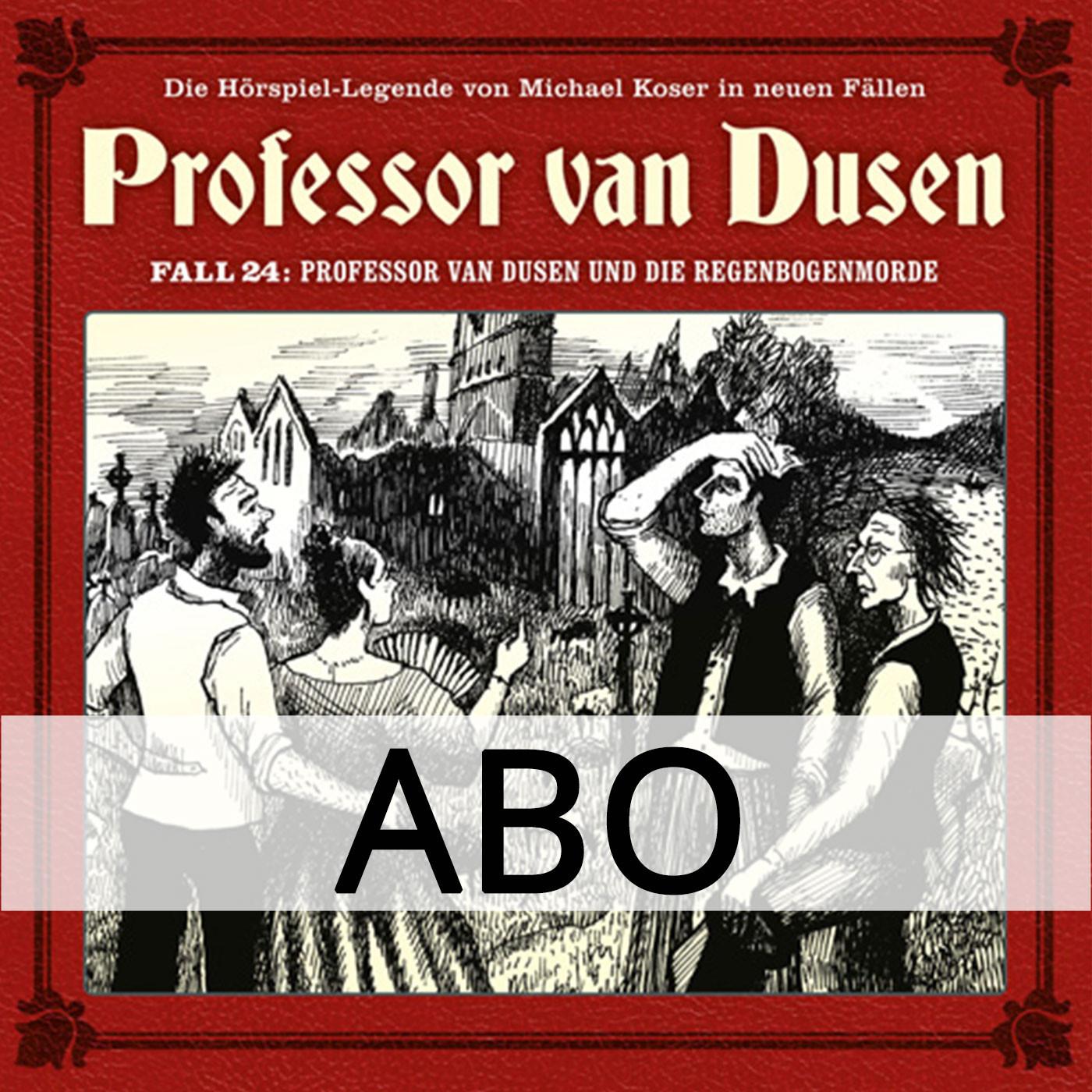 ABO Professor van Dusen - Die neuen Fälle