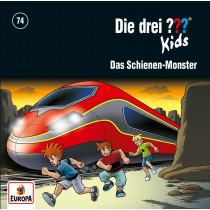 Die drei ??? Fragezeichen Kids - Folge 74: Das Schienen Monster