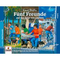 Fünf Freunde 36. 3er-Box: Auf der Spur von Dieben (Folge 121,123,131)