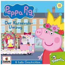 Peppa Pig (Peppa Wutz) - Folge 13: Der Karnevalsumzug (und 5 weitere Geschichten)