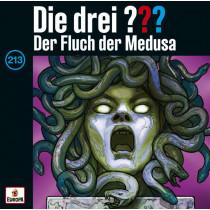 Die drei ??? Fragezeichen - Folge 213: Der Fluch der Medusa (CD)
