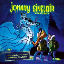 Johnny Sinclair - Die Gräfin mit dem eiskalten Händchen. 3-CD Hörspielbox Vol.3