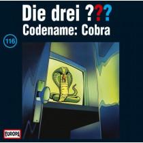 Die drei Fragezeichen Folge 116 Codename: Cobra
