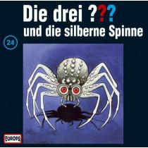 Die drei Fragezeichen Folge 024 und die silberne Spinne