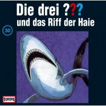 Die drei Fragezeichen Folge 030 und das Riff der Haie