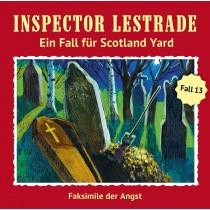 Inspector Lestrade - Fall 13: Faksimilie der Angst