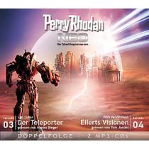 Perry Rhodan Neo MP3 Doppel-CD Folgen 03+04