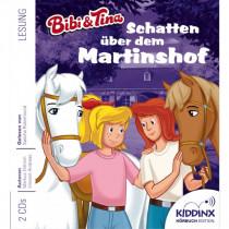 Bibi und Tina Hörbuch: Schatten über dem Martinshof
