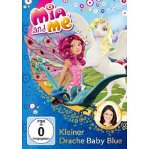 Mia and Me (5) Kleiner Drache Baby Blue
