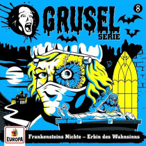 Gruselserie - Folge 8: Frankensteins Nichte - Erbin des Wahnsinns (LP)
