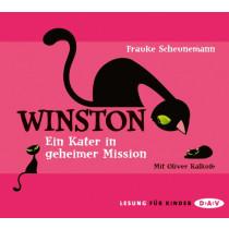 Frauke Scheunemann - Winston - Teil 1: Ein Kater in geheimer Mission