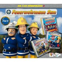 Feuerwehrmann Sam - Die 3-CD Hörspielbox 2