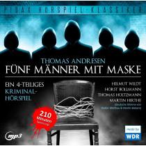Pidax Hörspiel Klassiker - Fünf Männer mit Maske