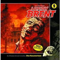 Larry Brent 09: Das Sanatorium ( Hörbuch )