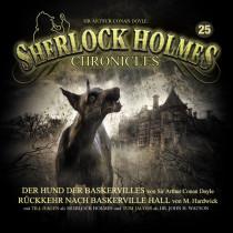 Sherlock Holmes Chronicles 25 Die Rache des Hundes (Neue Auflage DOPPEL-CD)