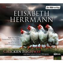 Elisabeth Herrmann - CHICKEN HIGHWAY und drei weitere Krimi-Hörspiele