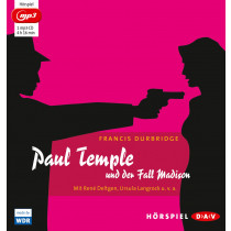 Francis Durbridge - Paul Temple und der Fall Madison (mp3-Ausgabe)