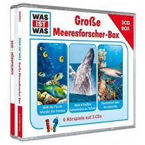 Was ist Was - Große Meeresforscher-Box (3 CDs)