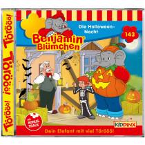 Benjamin Blümchen - Folge 143: Die Halloween-Nacht (CD)