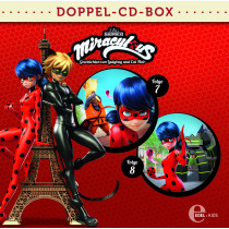 Miraculous - Geschichten von Ladybug und Cat Noir - Doppel-CD-Box (Folgen 7 + 8)