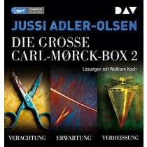 Jussi Adler-Olsen - Die große Carl-Morck-Box 2