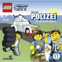 LEGO City - 1 - Der unheimliche Mister X - Polizei