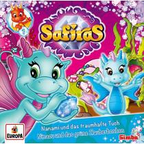 Safiras - Folge 1: Nanami und das traumhafte Tuch/Ninazu und das grüne Zauberbonbon