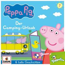 Peppa Pig (Peppa Wutz) - Folge 7: Der Camping-Urlaub (und 5 weitere Geschichten)