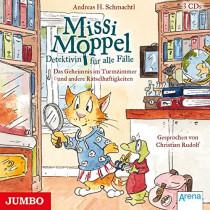 Missi Moppel. Detektivin für alle Fälle: Das Geheimnis im Turmzimmer und andere Rätselhaftigkeiten
