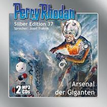 Perry Rhodan Silber Edition 37 Arsenal der Giganten (2 mp3-CDs)