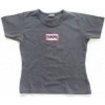 Europa Girlie-Shirt dunkelgrau Größe S/M