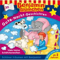 Benjamin Blümchen - Gute-Nacht-Geschichten - Folge 30: Viele kleine Schäfchenwolken